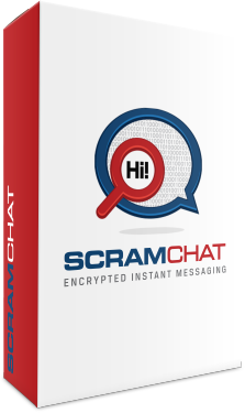 ScramChat encrypted instant messaging for confidential communications