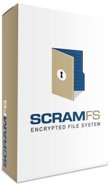 ScramFS fully symmetric cryptographic file system